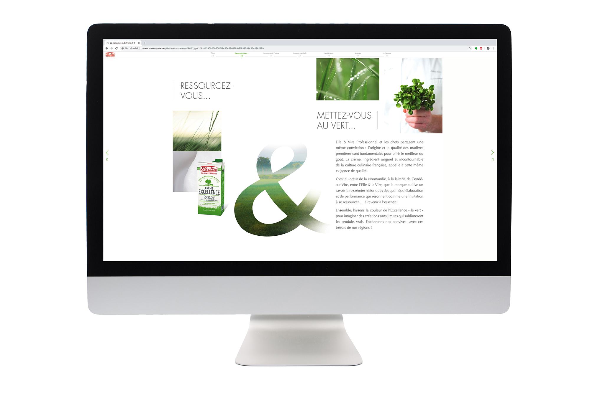 Création site Web Elle&Vire